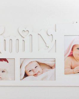 "Dekorativni ram ""Family"""